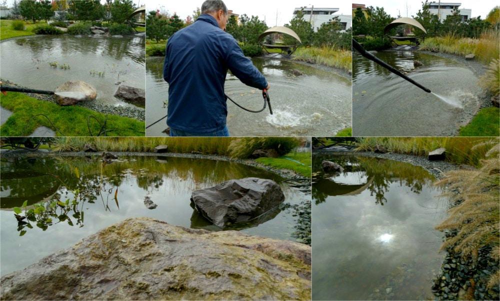 Intretinerea lacului artificial