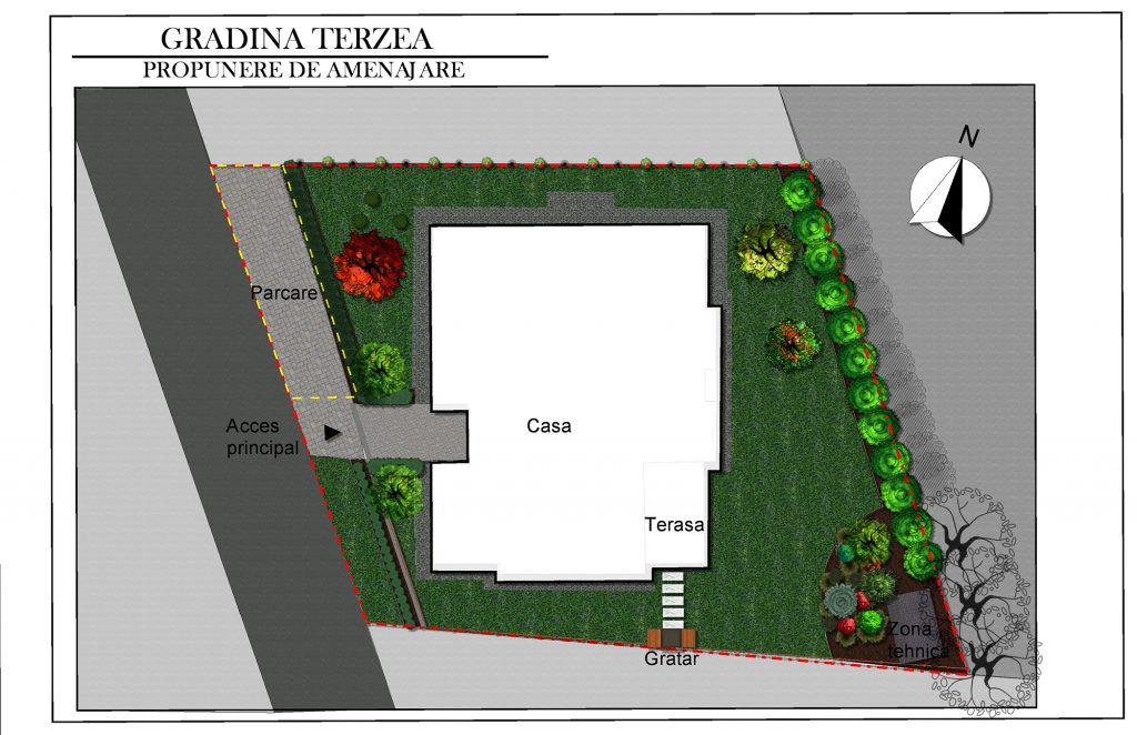 Gradina Armonia, amenajare peisagistica in Bucuresti   Natural Design