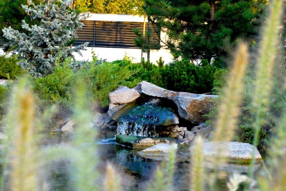 Amenajam iazuri, lacuri si cascade din piatra naturala