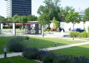 Amenajare parc in strada Fabrica de Glucoza